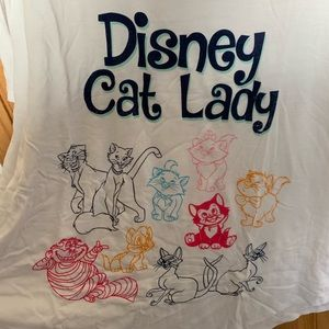 Disney Cat Lady Shirt